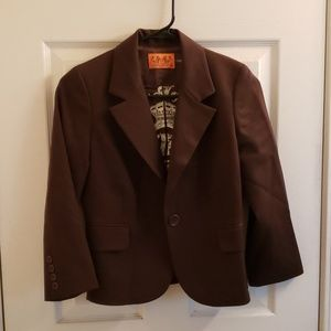 Women's Brown Juicy Couture Blazer Small